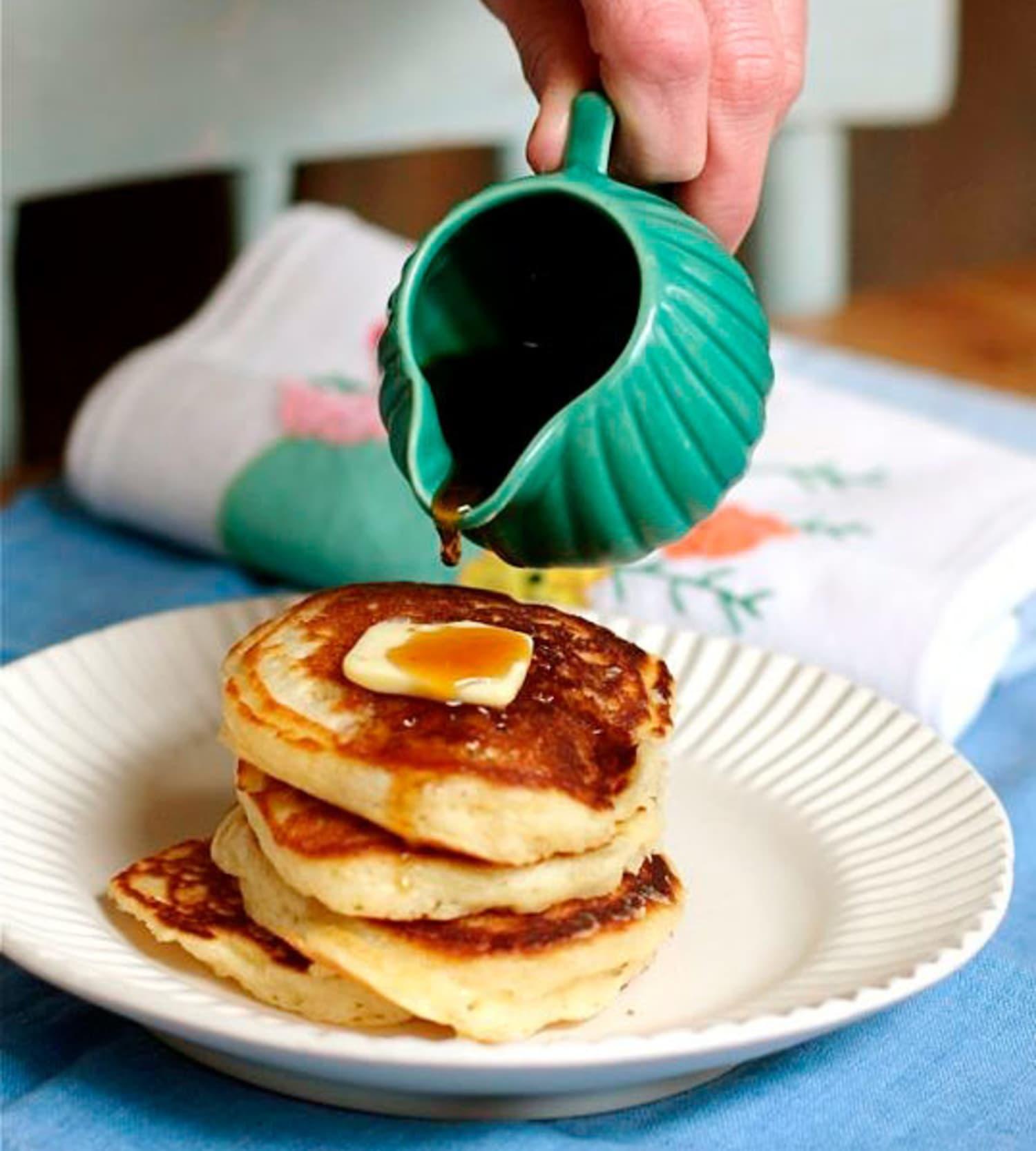 The Best Pancake Recipe: Lofty Buttermilk Pancakes