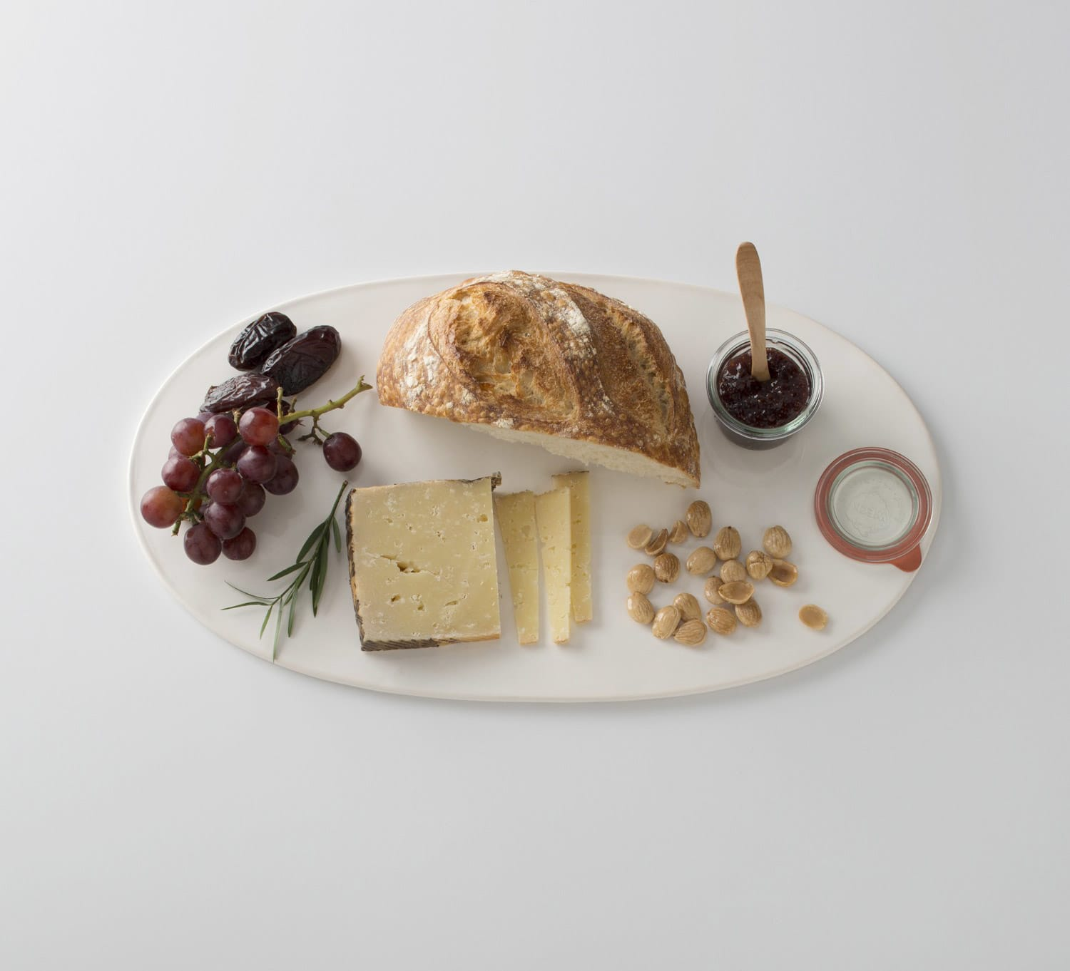 Oval Ceramic Serving Platter From Schoolhouse Electric