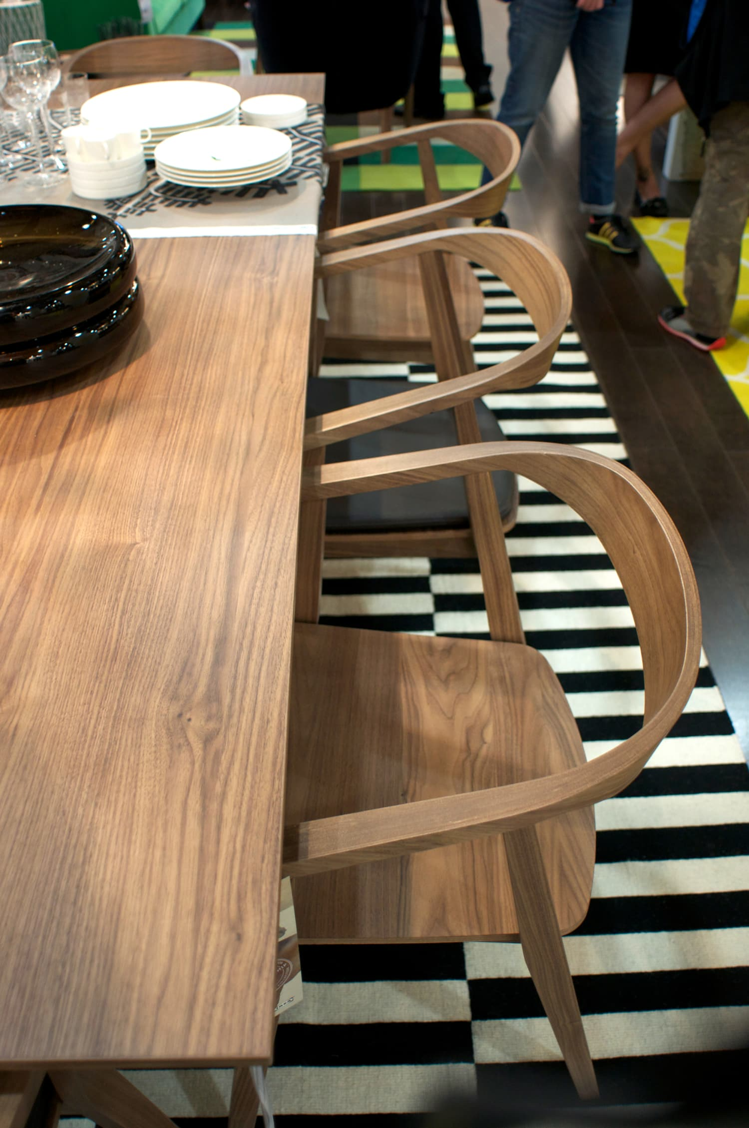New From IKEA! The Stockholm Table And Chairs, Coming In