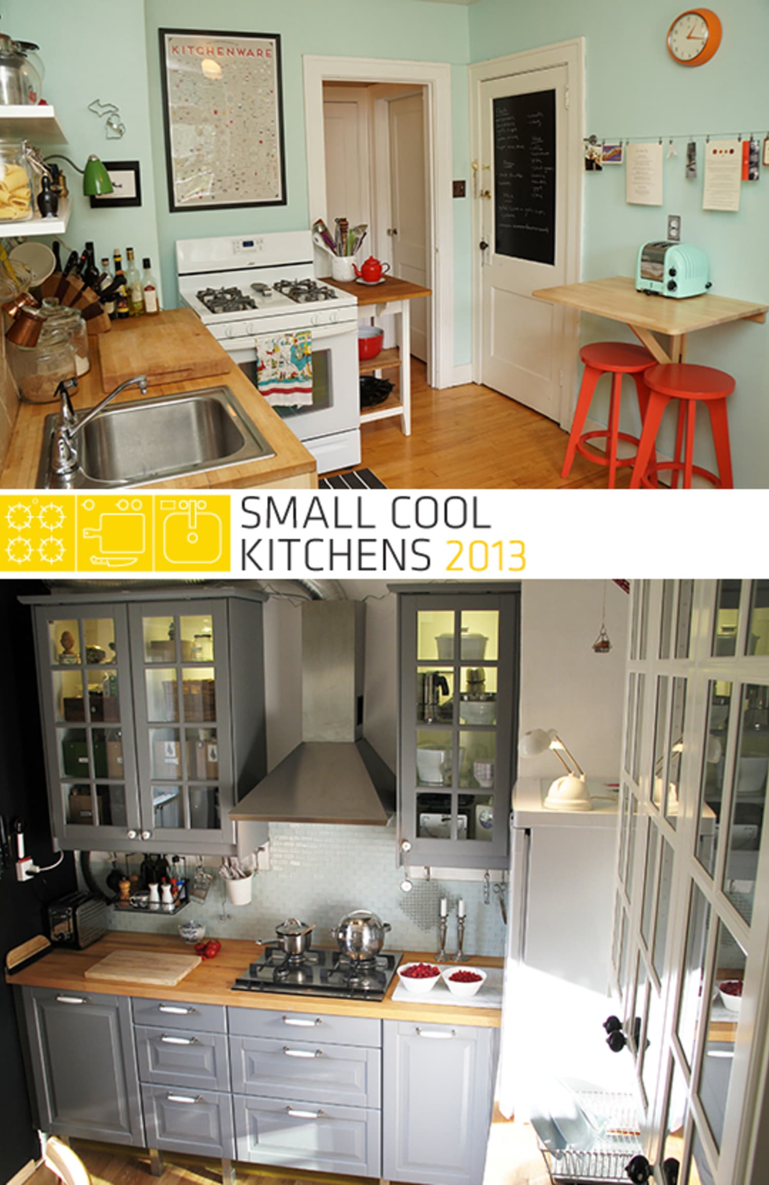 The Winners Of Small Cool Kitchens 2013!
