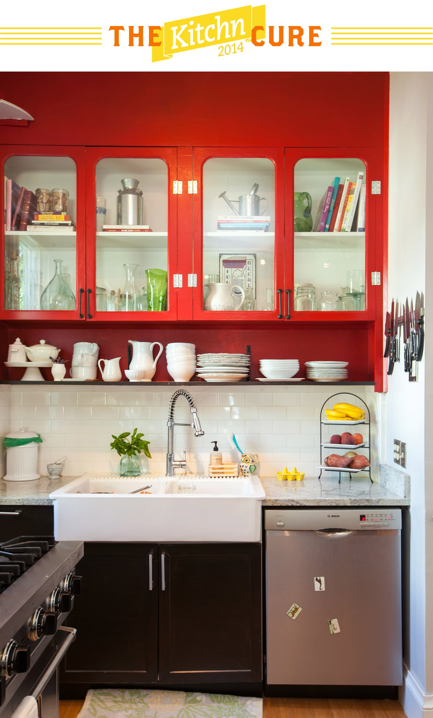 The Kitchn Cure Day 14 Clean Cupboards Shelves And