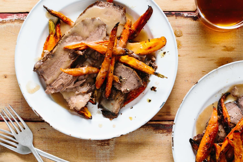 Recipe German Slow Cooker Pot Roast Sauerbraten Kitchn