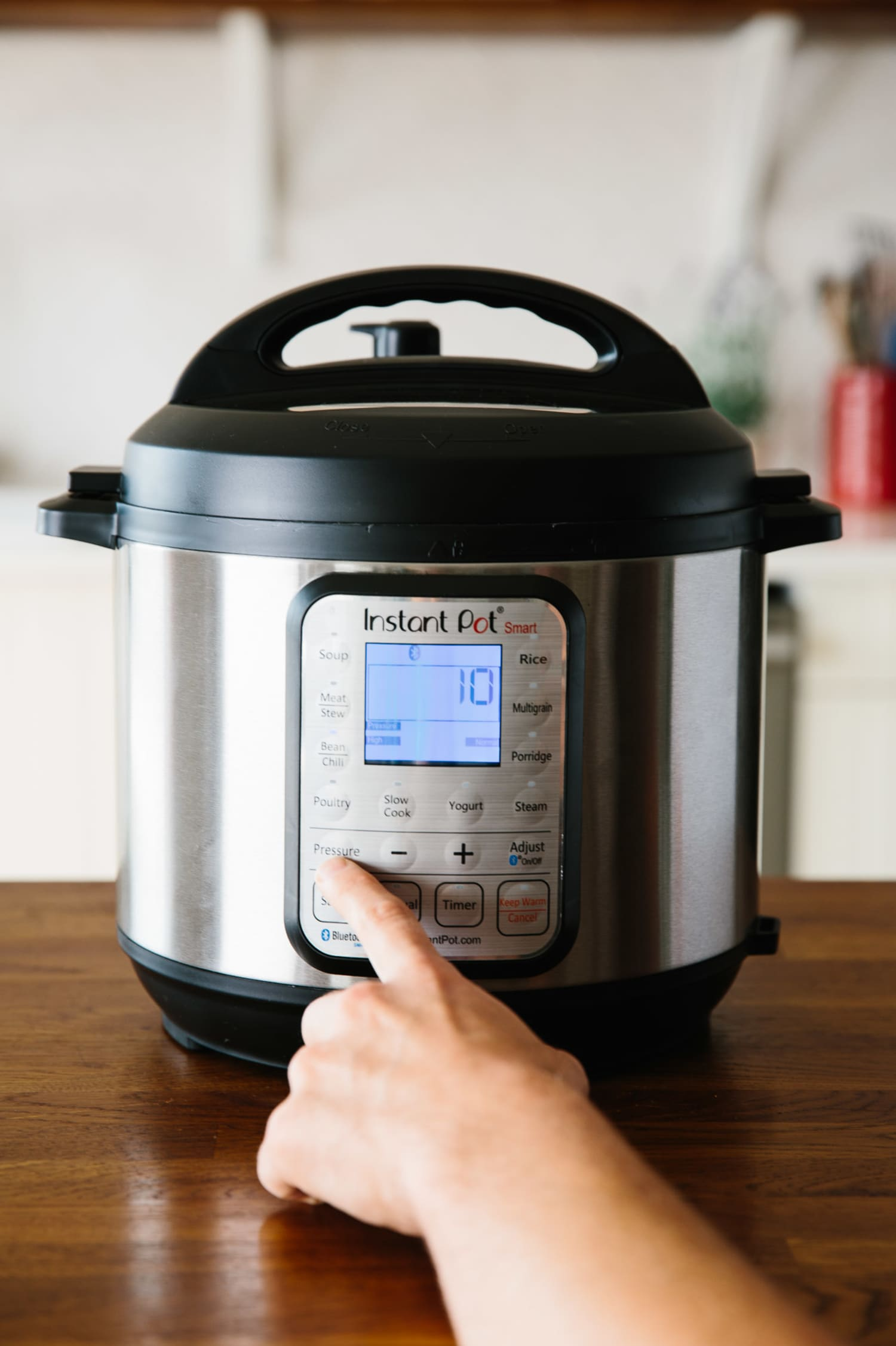 When To Use High Or Low Pressure On The Instant Pot Kitchn