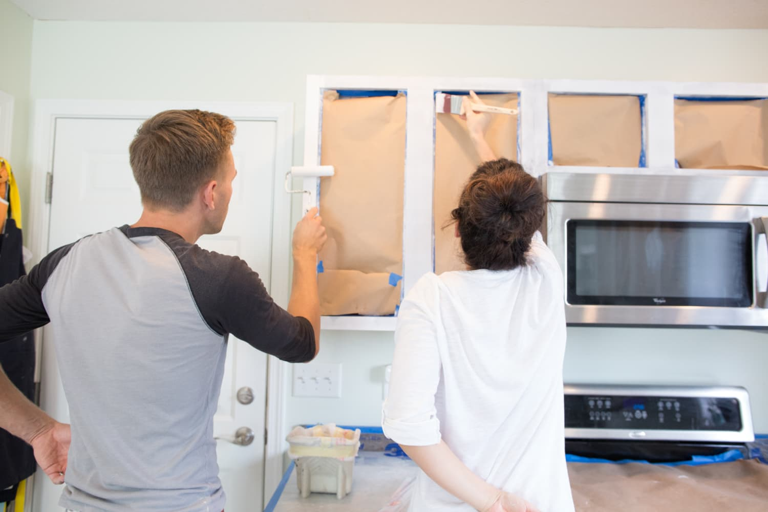 5 Tips For Successfully Painting Wood Cabinets White Kitchn