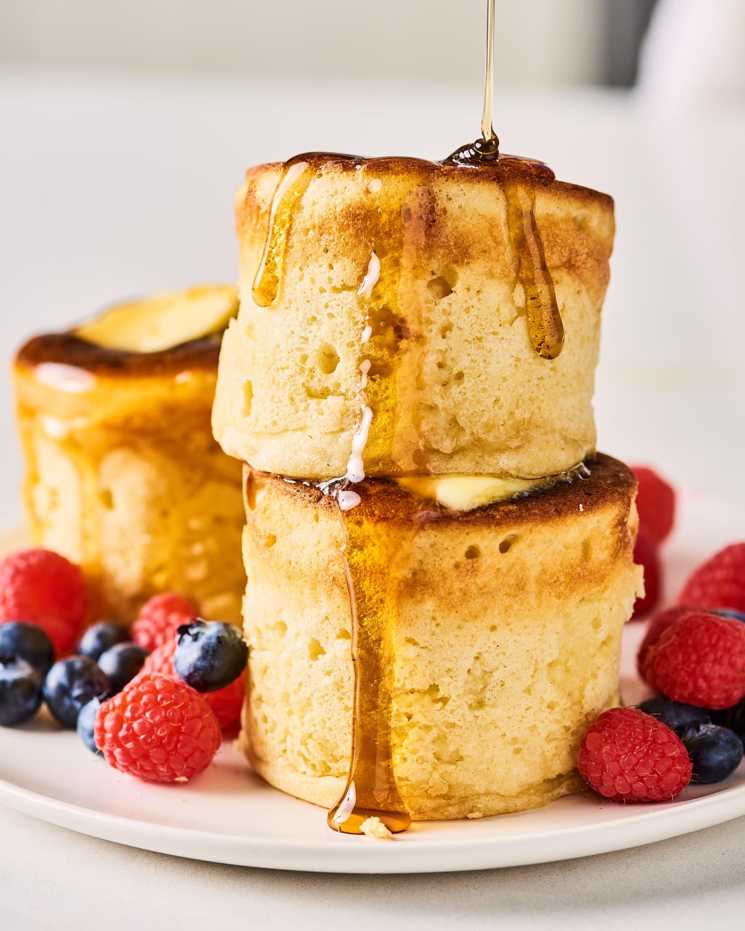 The Best Fluffy Japanese Pancakes Recipe