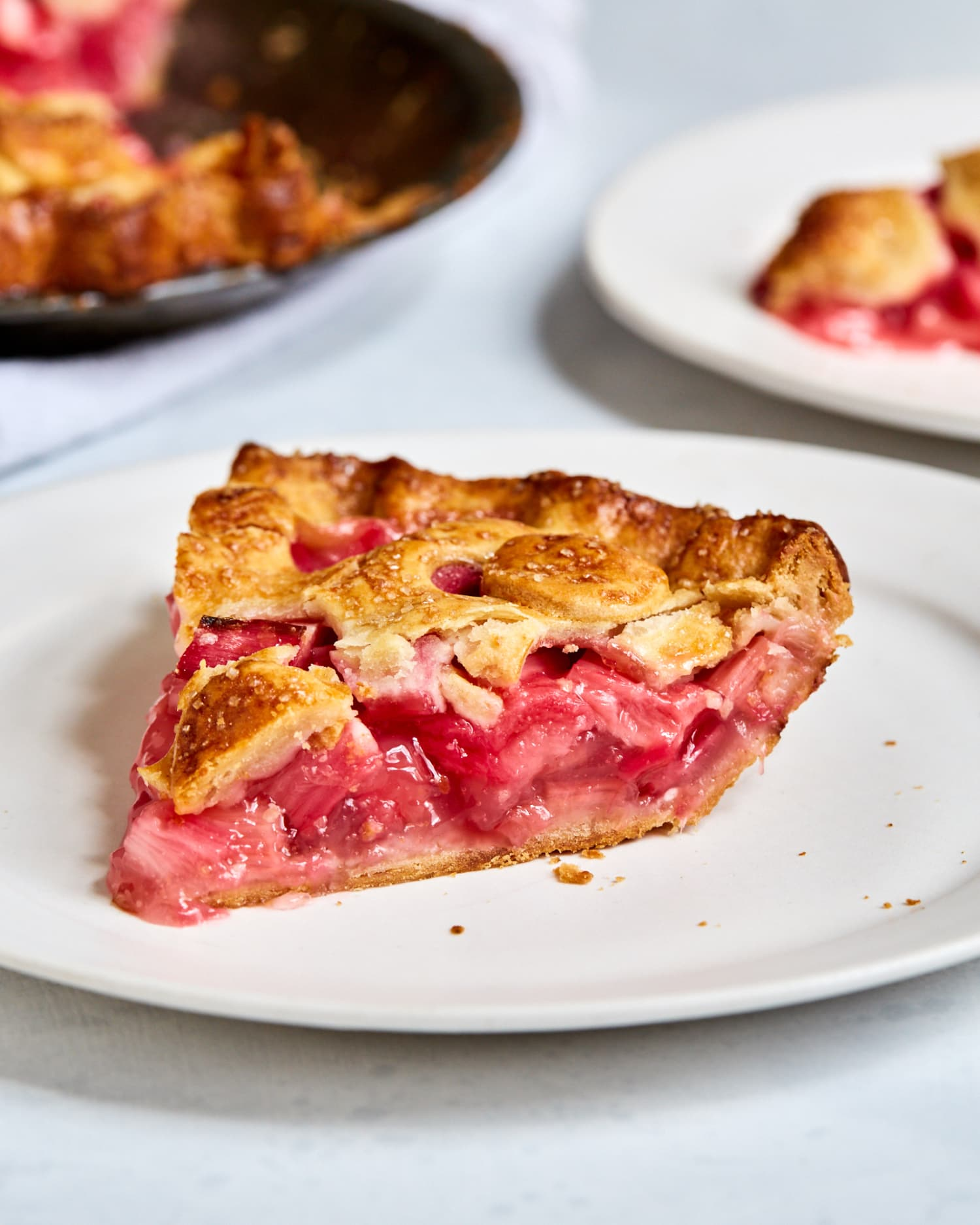 Rhubarb Pie Recipe | Kitchn