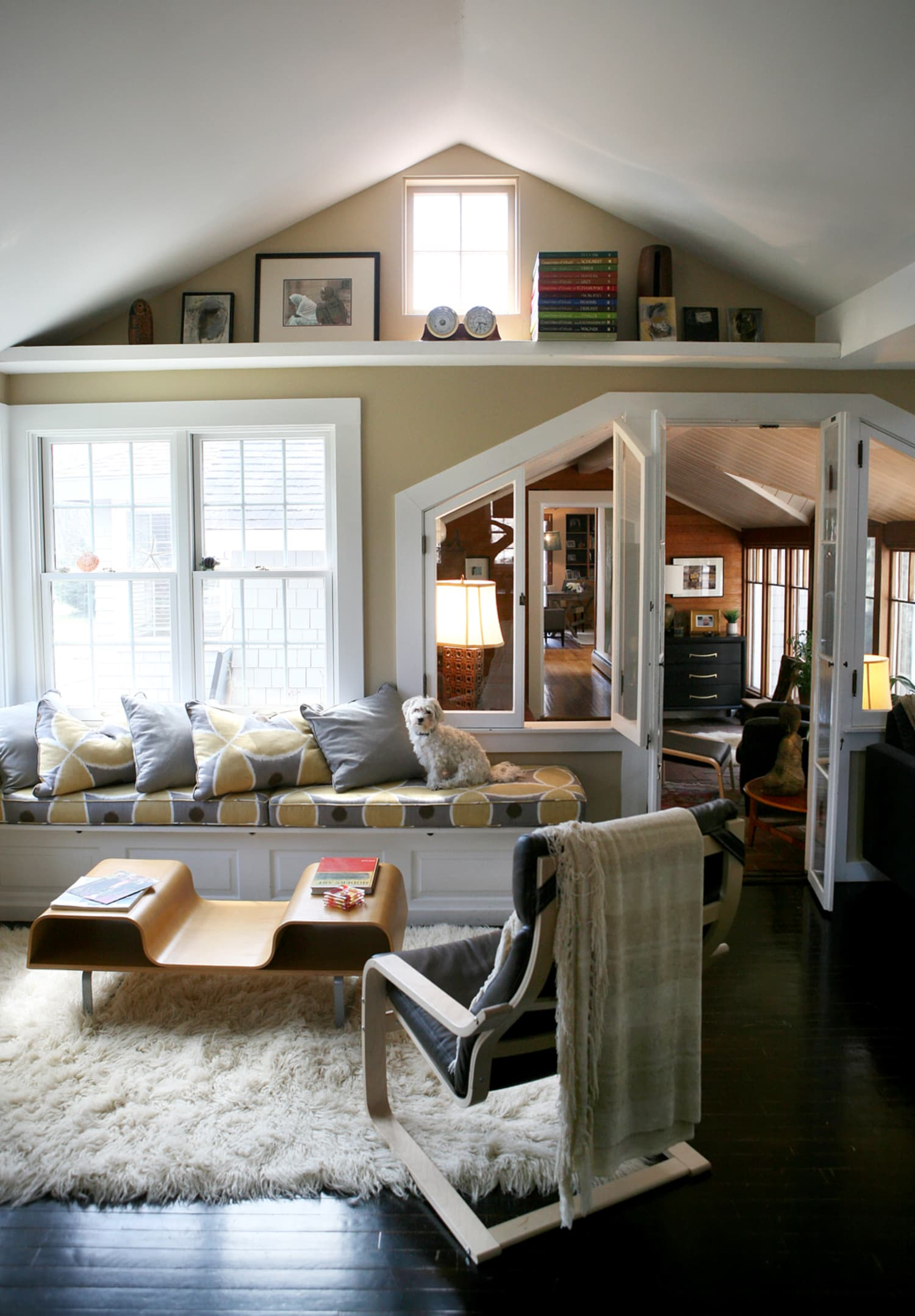 Monica Austins Charming Bungalow Apartment Therapy