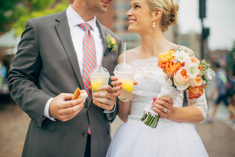 Real Weddings Boston: Real Wedding: Elopement At Boston City Hall (After