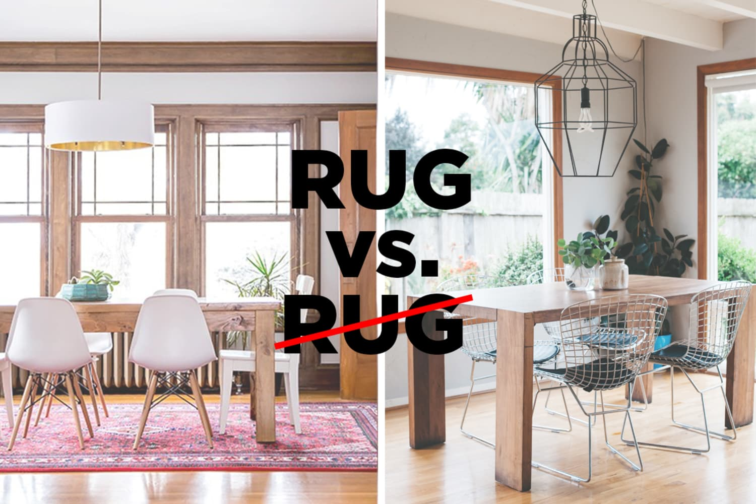 Let S Settle This Do Rugs Belong In The Dining Room Apartment