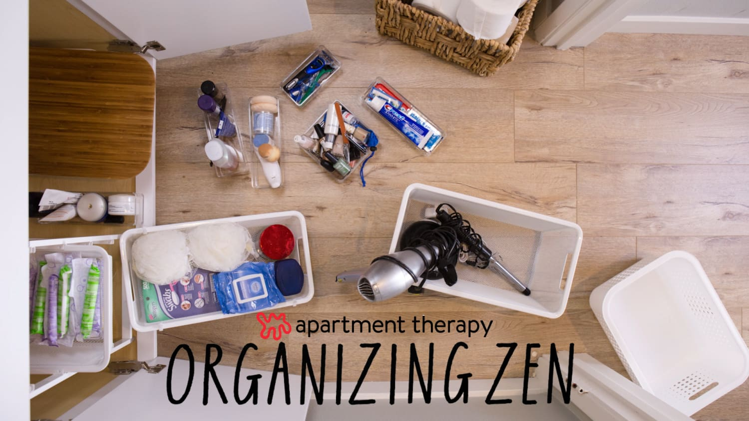 Organizing Zen: How to Organize Your Under-Sink Cabinet