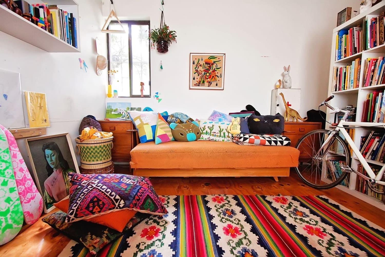 Bohemian Style Decor Ideas from Australian Homes ... on Bohemian Living Room Decor Ideas  id=30174