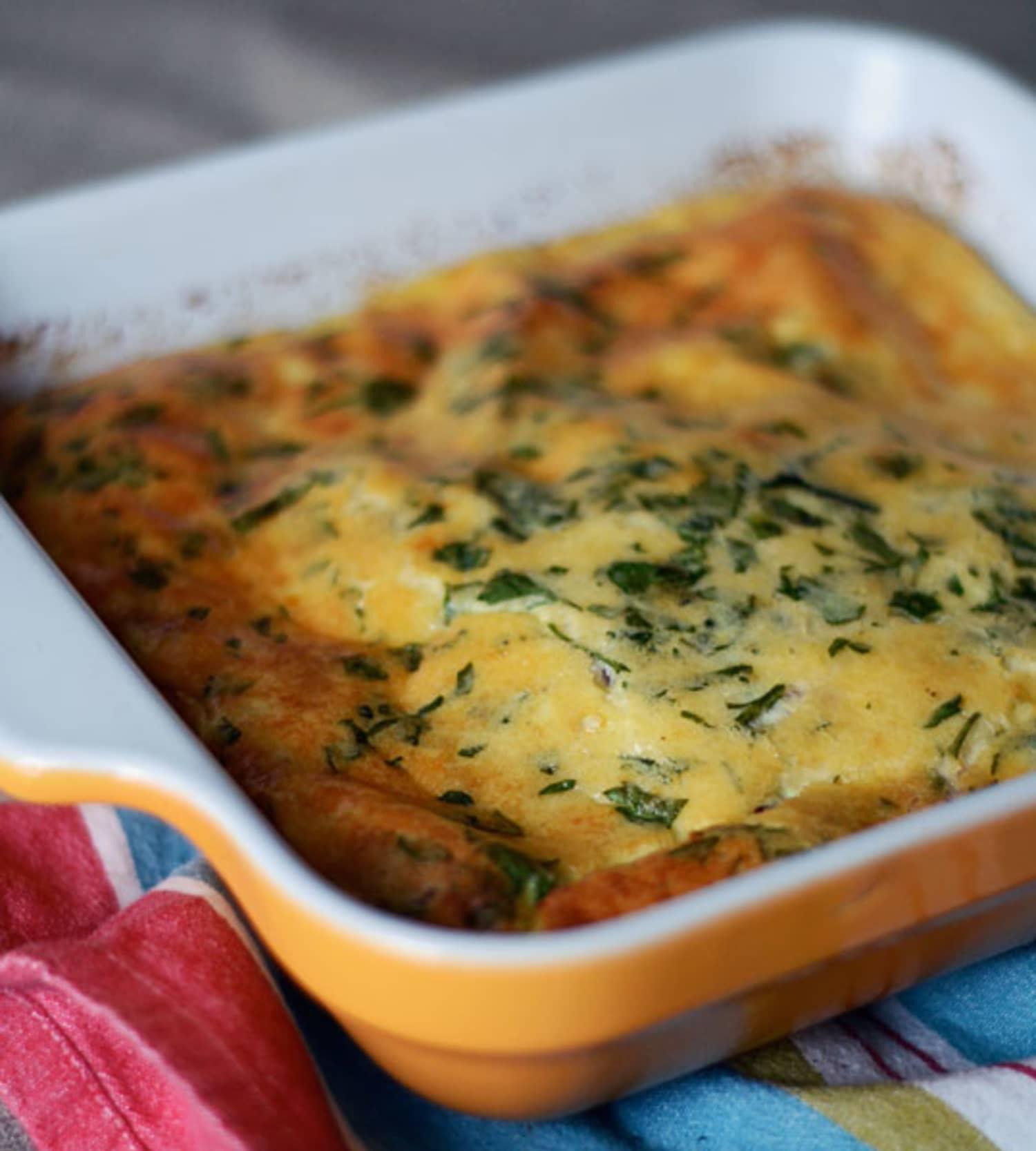 Quick Breakfast Recipe: Basic Oven Omelet