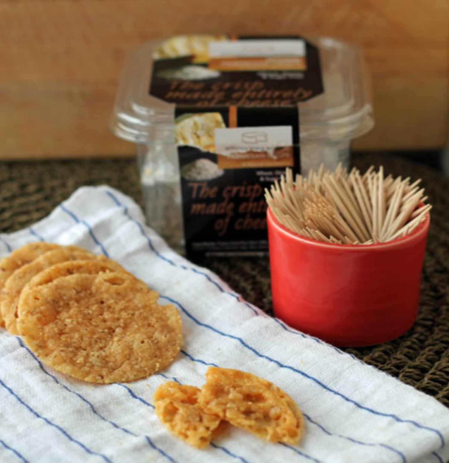 Gluten-Free Snack: Sesame Parmesan Crisps From Kitchen
