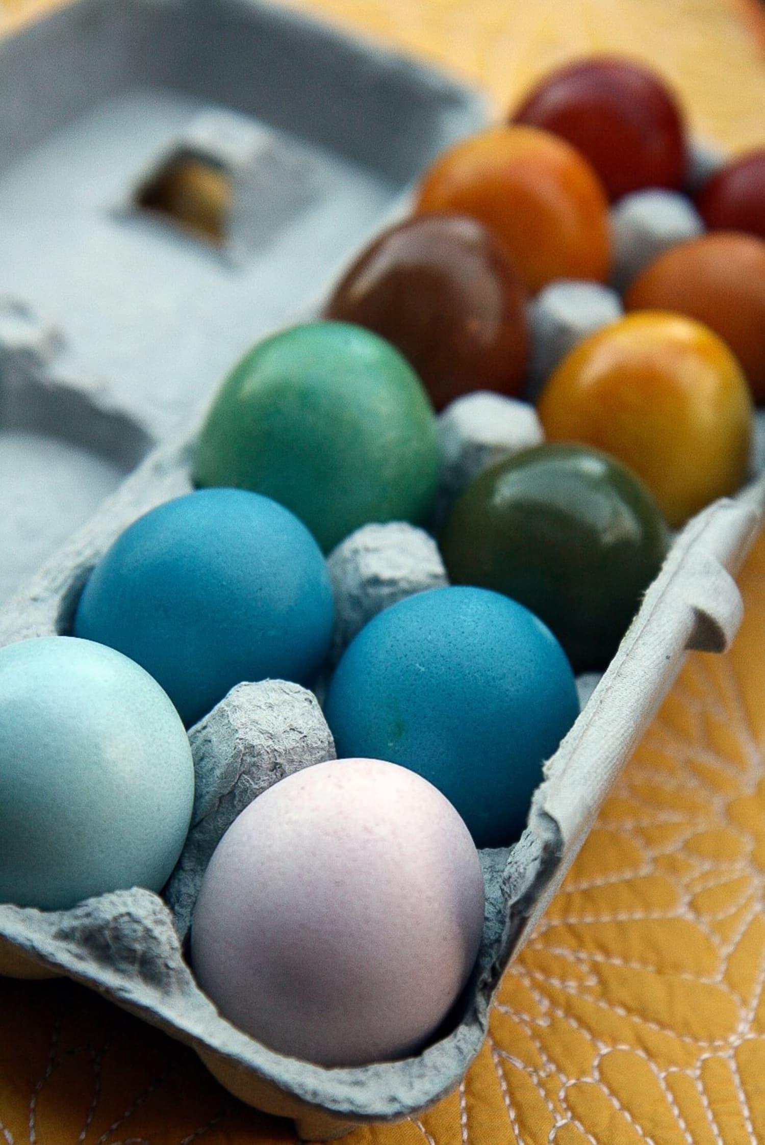 How To Make Natural Easter Egg Dye Kitchn