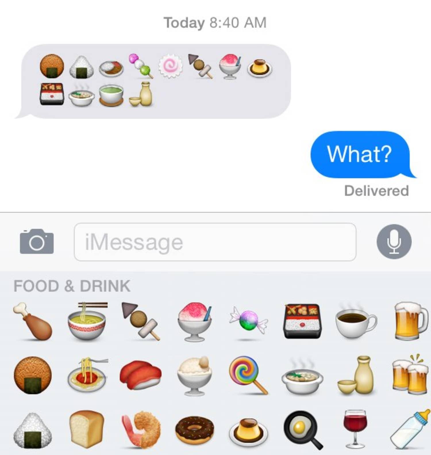 Emojis bedeutung whatsapp