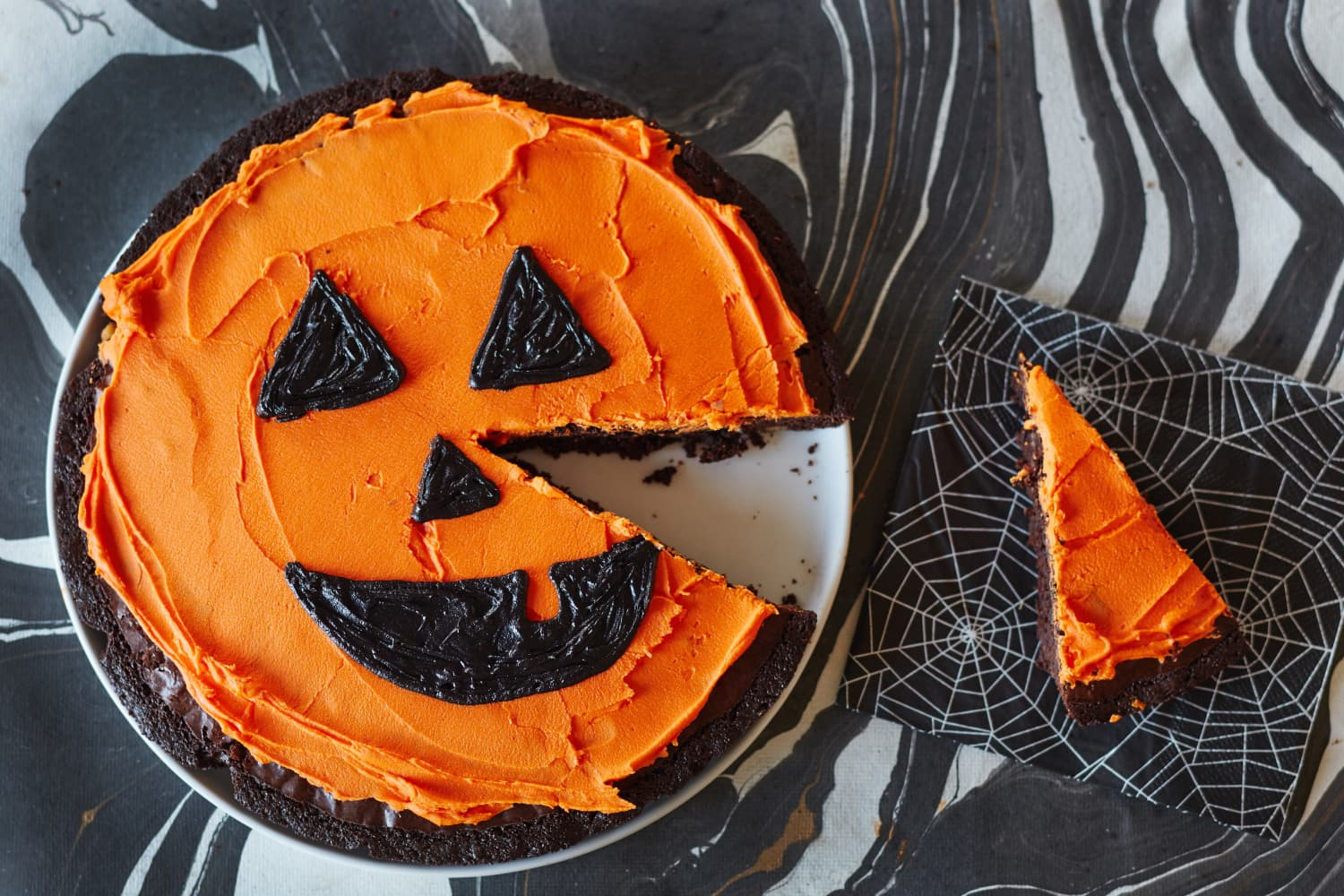 Brownies Go Boo With A Jack O Lantern Grin Kitchn
