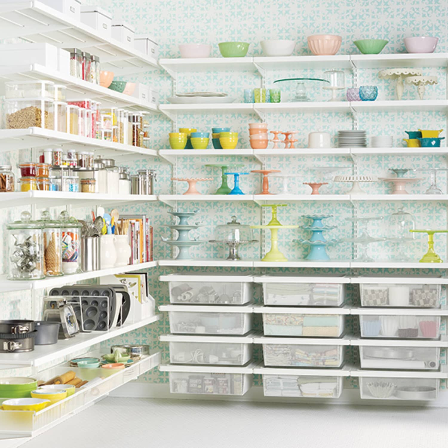 6 Tips To Steal From This Container Store Pantry Kitchn