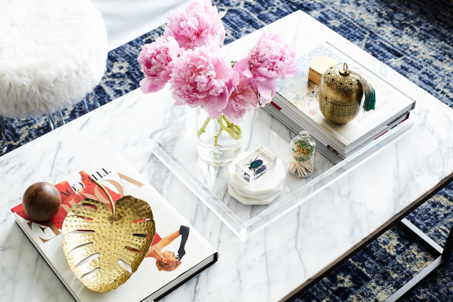 Make It Beautiful: How To Style the Perfect Coffee Table