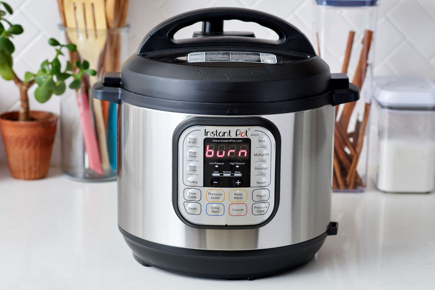 """What It Means When Your Instant Pot Says """"Burn"""" on the Front"""
