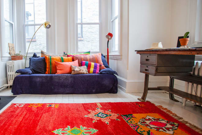 The Home of Anthropologie's Design Director Is Full of Textures and Textiles
