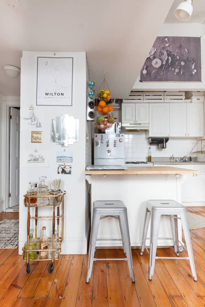 10 Brilliant Ways to Make Your Tiny Kitchen Look and Feel Much Larger