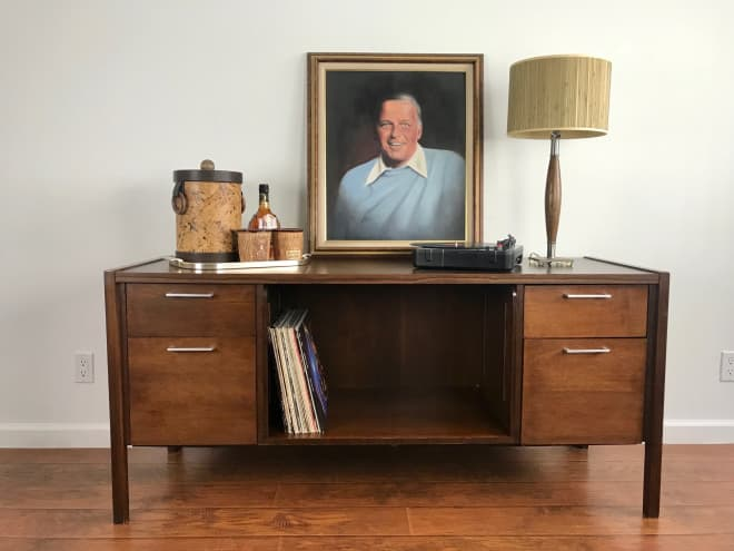 BAZAAR: Danish Dining Chairs, Restoration Hardware Stools, A Vintage Rug & More!