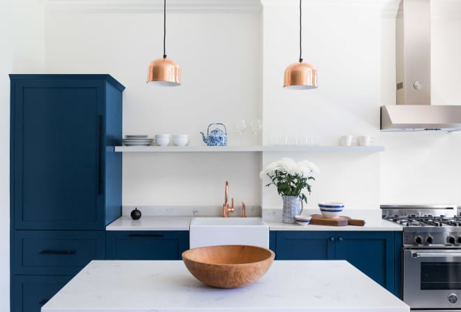 This Is the Prettiest Blue Kitchen We've Ever Seen