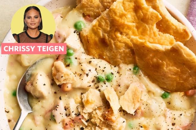 Recipe Review: Chrissy Teigen's Chicken Pot Pie Soup