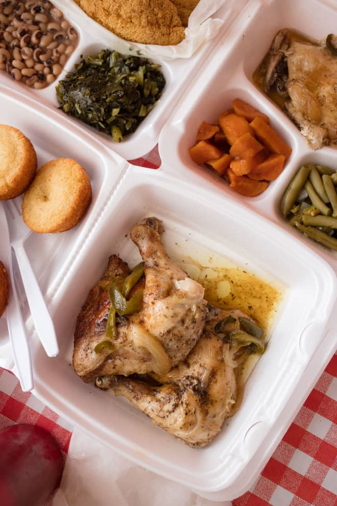 Recipe: Carla Hall's Baked Chicken with Pan Gravy