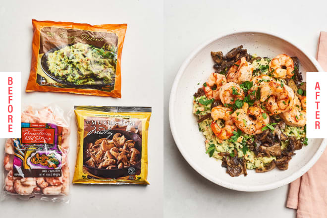 These 3-Ingredient Trader Joe's Meals Come Straight from the Freezer Aisle