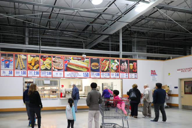Costco's New Food Court Find Is a Frozen Delight