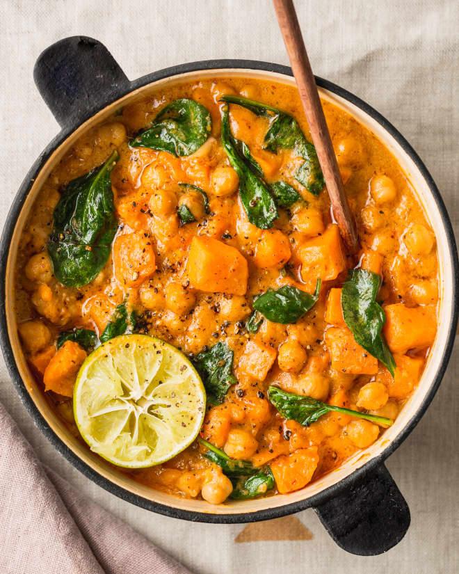 Recipe: Easy Vegan Sweet Potato Curry