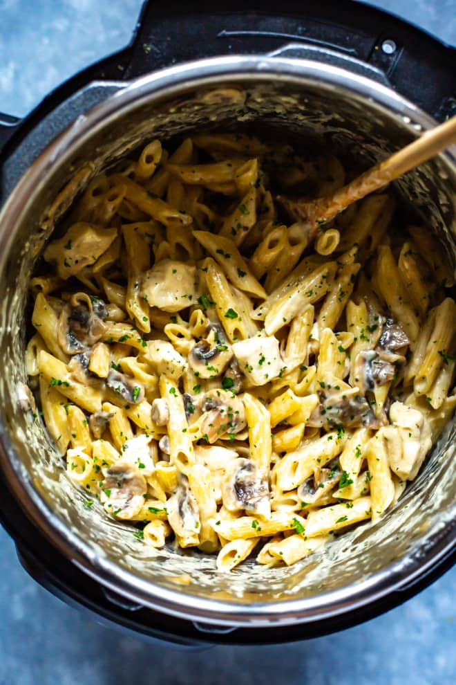 This Mushroom-Packed Chicken Alfredo Is an Instant Favorite