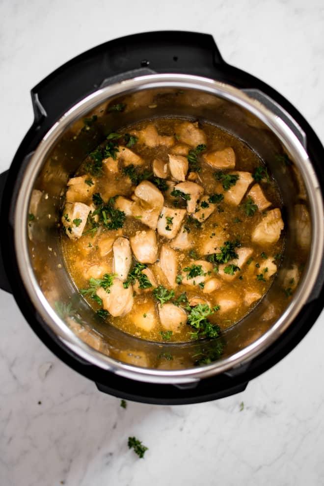 Instant Pot Honey Garlic Chicken Is a Weeknight Winner