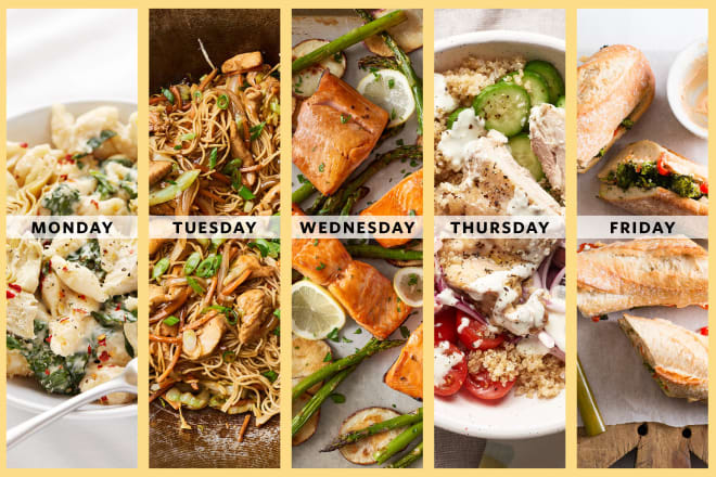 A Week of 30-Minute Meals for 2