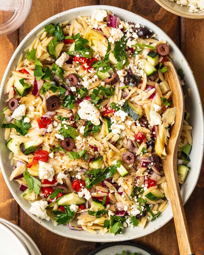 Recipe: Mediterranean Orzo Salad