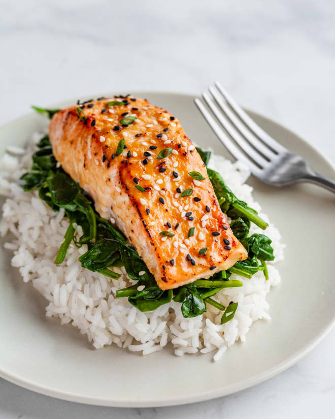 Recipe: Slow-Roasted Miso Salmon