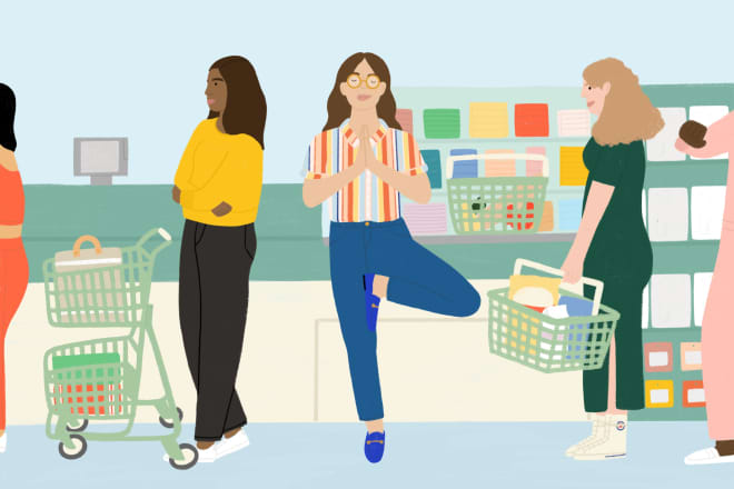 My Favorite Self-Care Moment Happens When I'm in Line at the Grocery Store