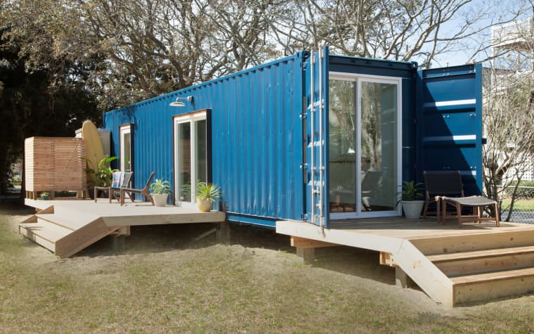 Modern Container Beach House | 17 Cool Container Homes To Inspire Your Own