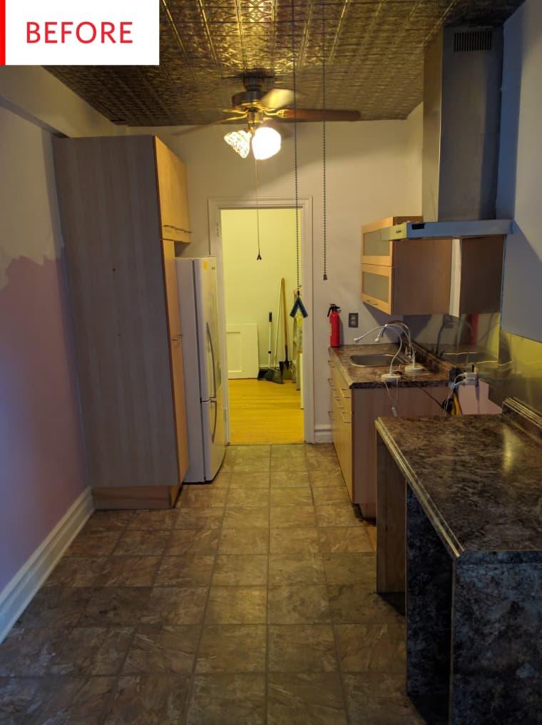 Antes de un apartamento reformado
