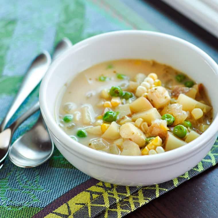 Andean Potato & Cheese Soup