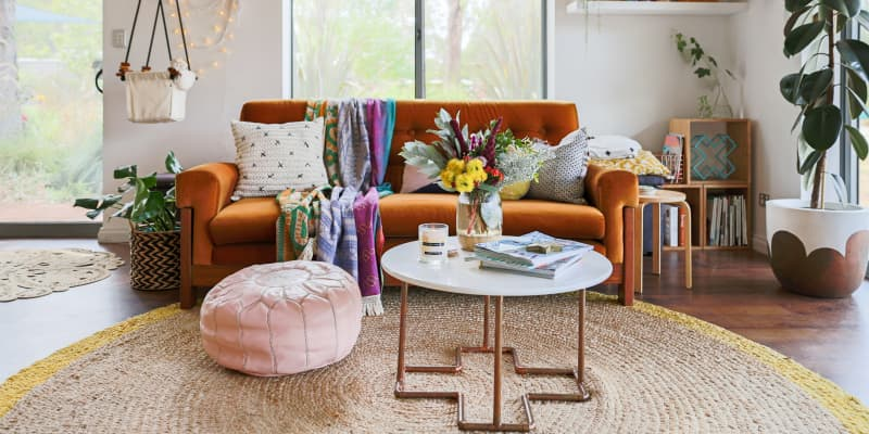 The 12 Best Ottomans And Poufs Apartment Therapy