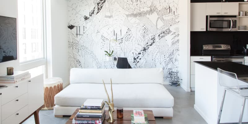 How To Make A Statement Wall Apartment Therapy