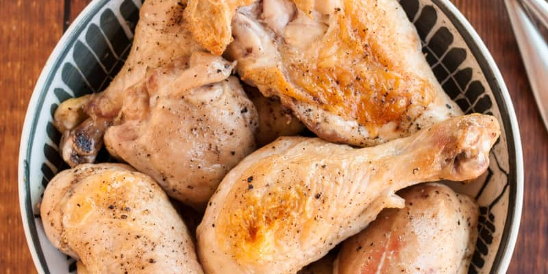 How To Make The Easiest Baked Chicken Kitchn