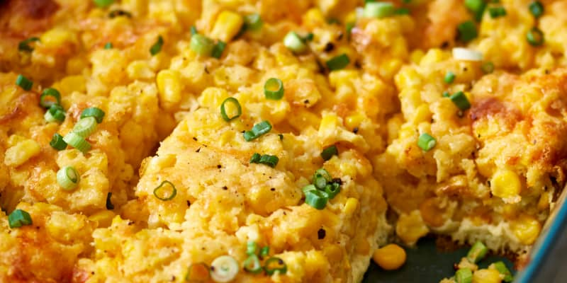 Recipe Baked Corn Pudding Casserole Kitchn
