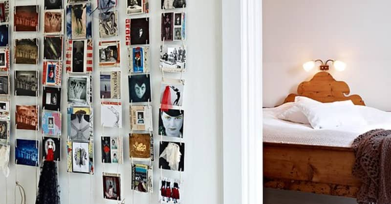 10 Creative Ways To Display Postcards Apartment Therapy