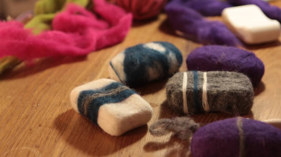 Make Felted Soap   Amazing Gift Ideas to Make Out Of Your Sheep's Wool