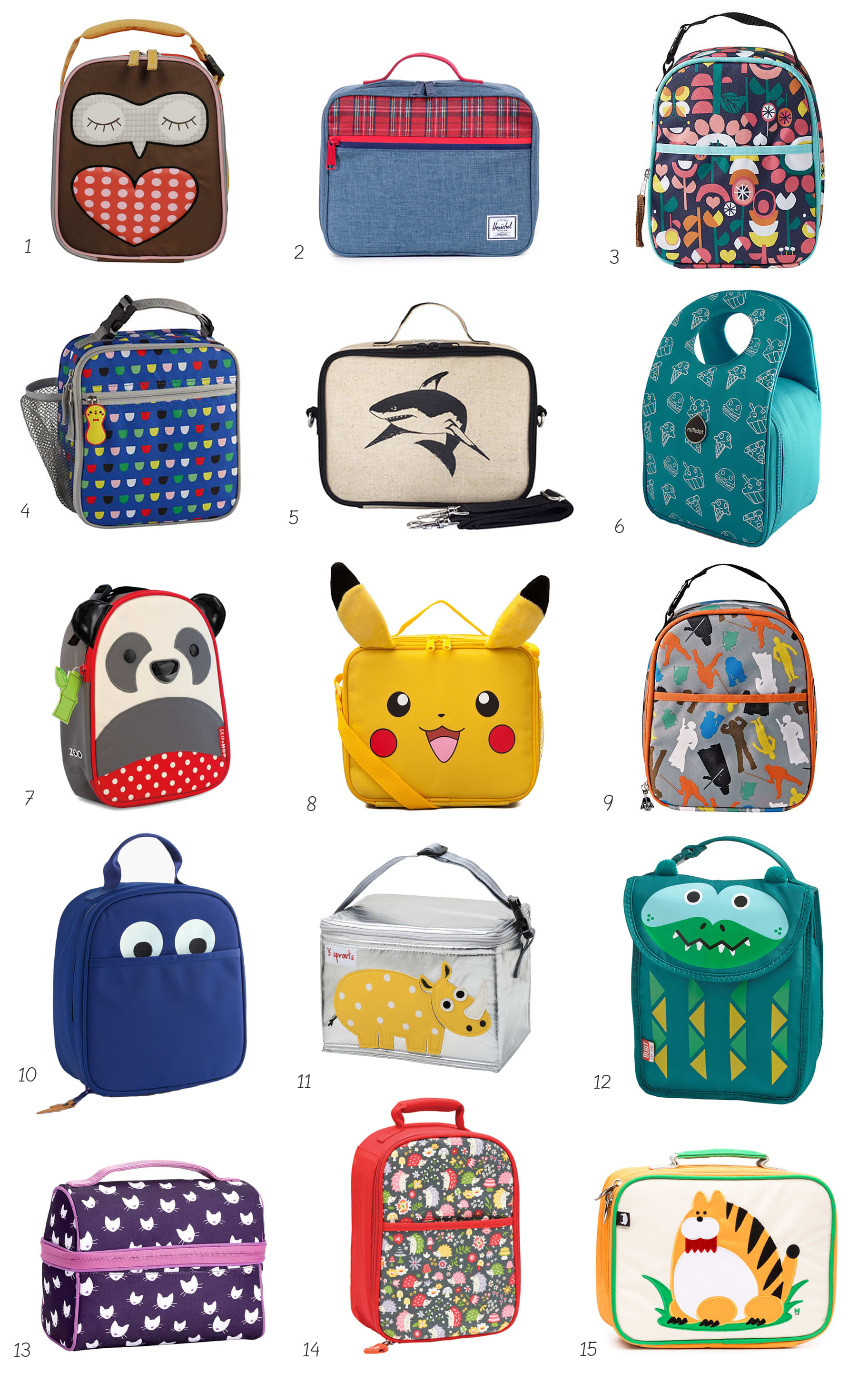 8e8929ea050f Best (  Cutest!) Kids Lunch Boxes and Lunch Bags