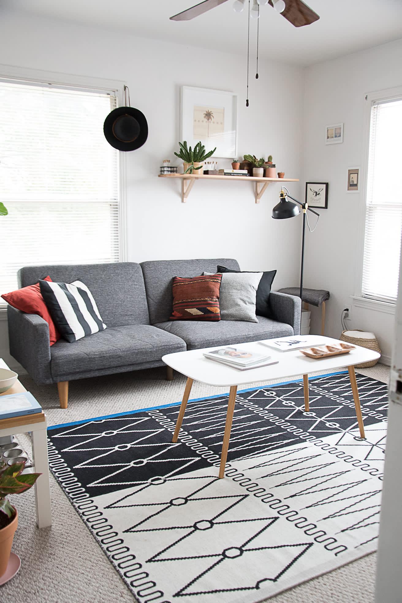 kako urediti malu dnevnu sobu