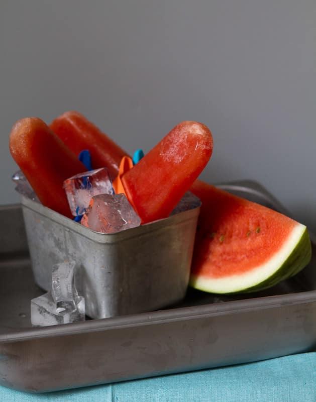 Recipe: Watermelon Popsicles
